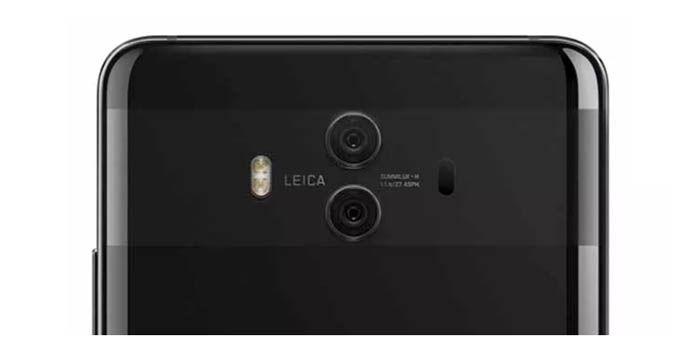 Camara del Huawei Mate 10