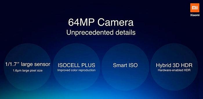 Camara del Redmi Note 8 y Note 8 Pro