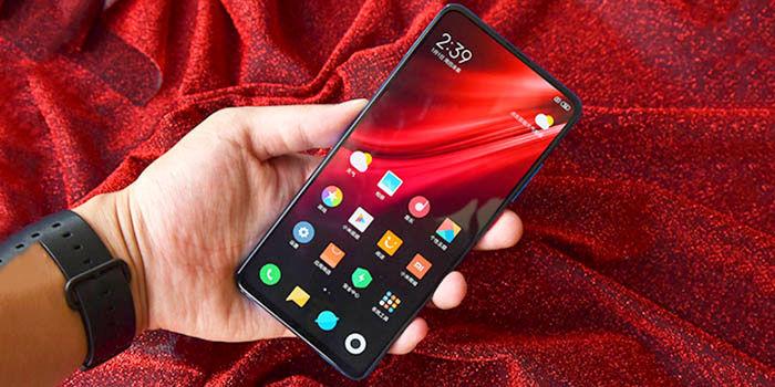 Camara integrada en pantalla de Xiaomi