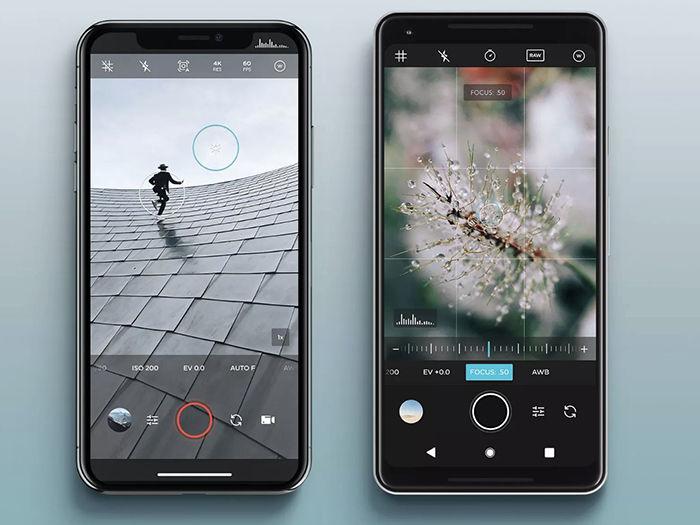Camara profesional para Android