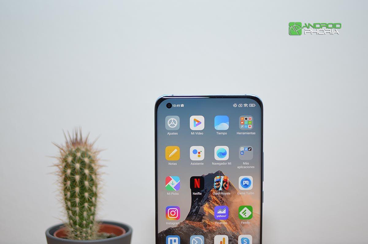 Cámara selfie Xiaomi Mi 11