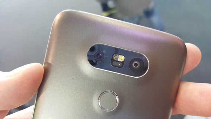 Camara trasera LG G5
