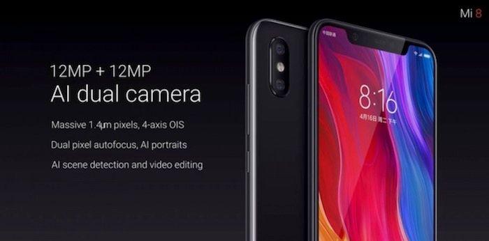 Cámara trasera Xiaomi Mi 8