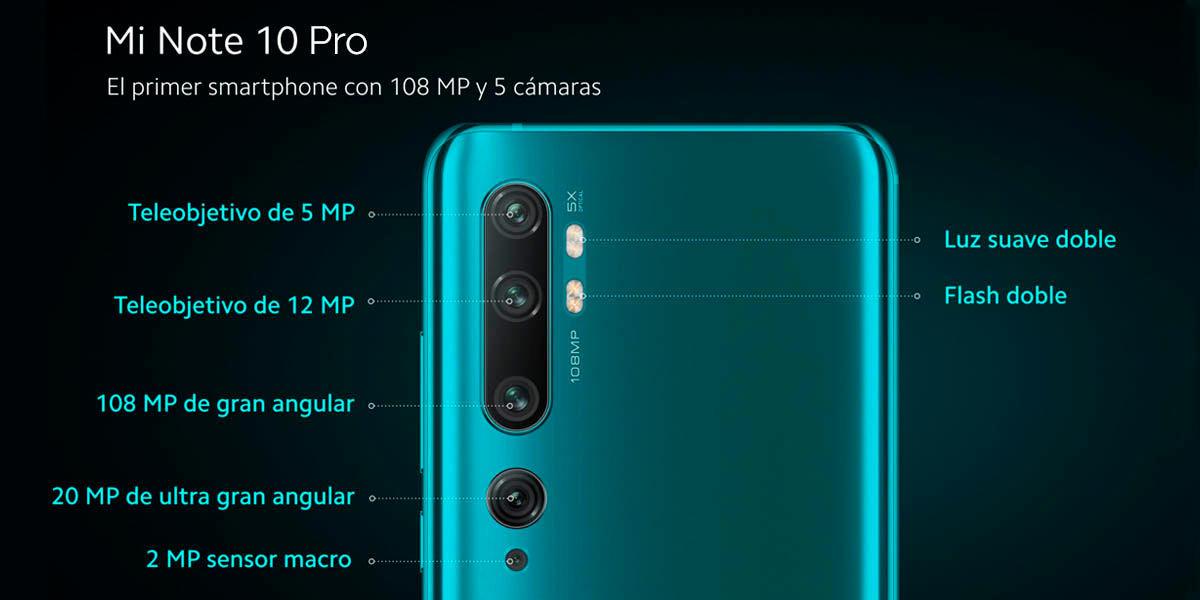 Camaras-Mi-Note-10-Pro