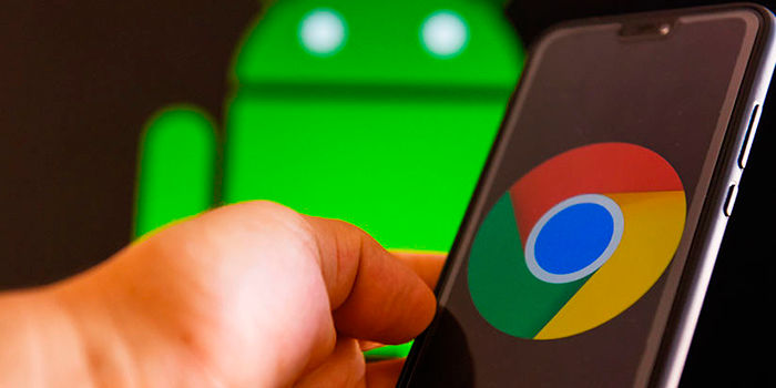 Cambiar carpeta descargas Chrome Android