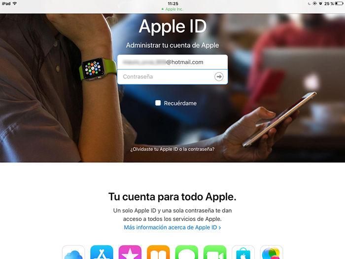 Cambiar contrasena Apple ID 8