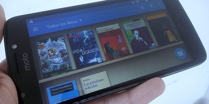 Cambiar portada a libro en Android con Moon Reader