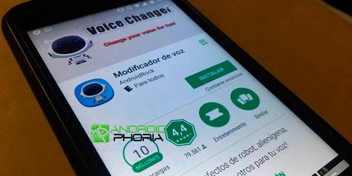 Cambiar la voz en Android