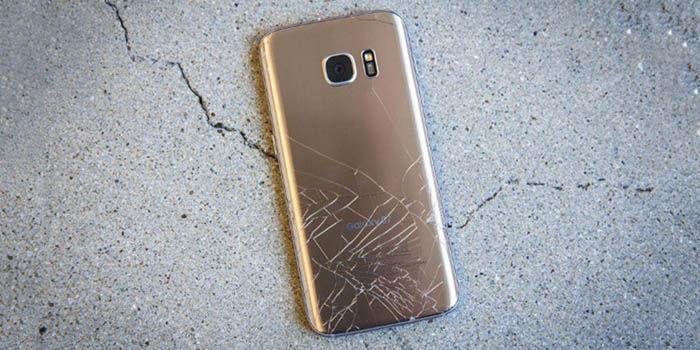 Cambiar pantalla rota Galaxy S7