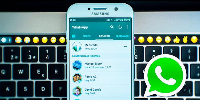 Cambiar privacidad estados WhatsApp