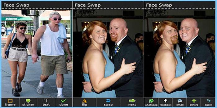 Cambiar rostros en Android