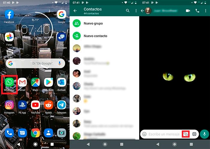 Cambiar voz en los audios WhatsApp Tutorial 3