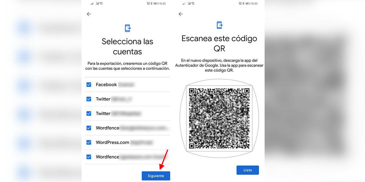 Cambiarse de móvil sin miedo a perder tus cuentas de Google Authenticator