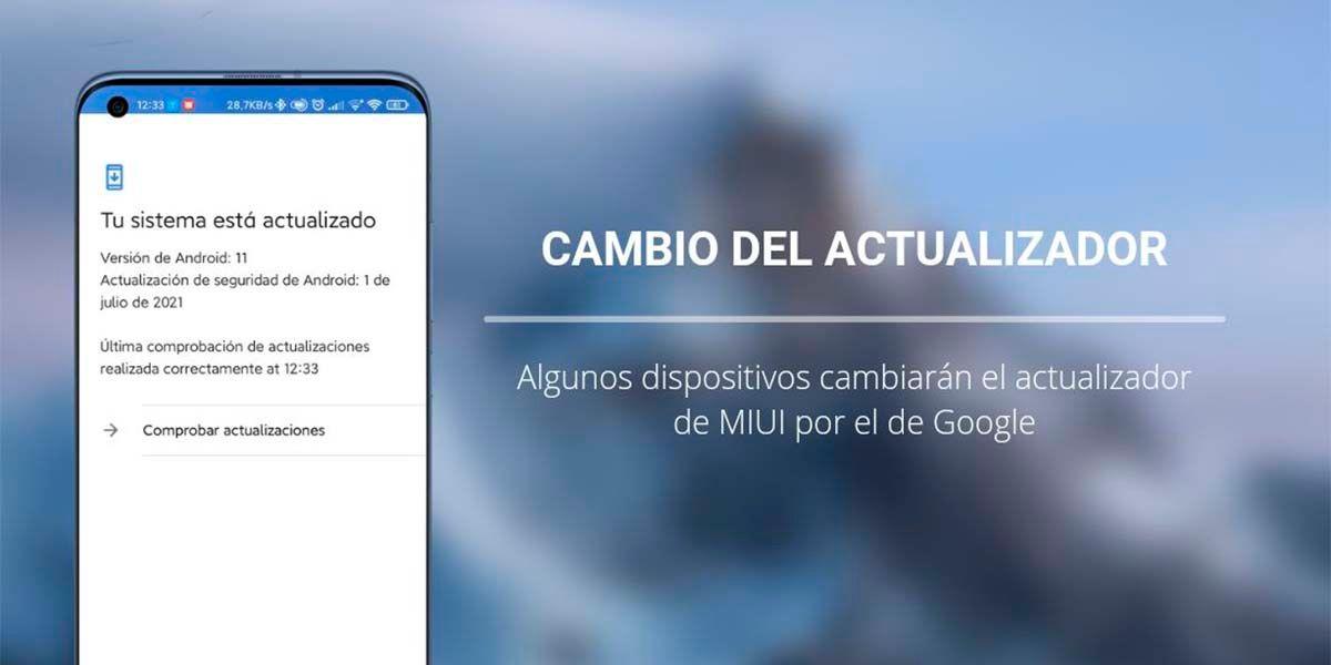 Cambio del instalador de MIUI Xiaomi versión global