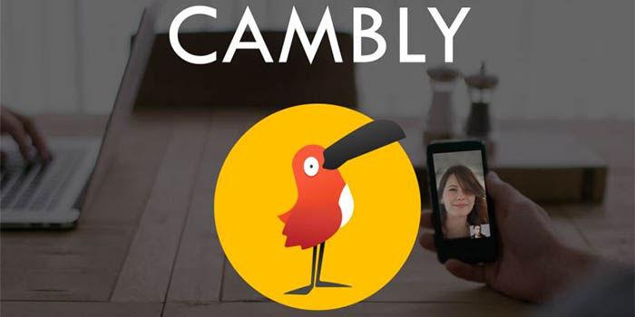 Cambly es una aplicacion para aprender ingles
