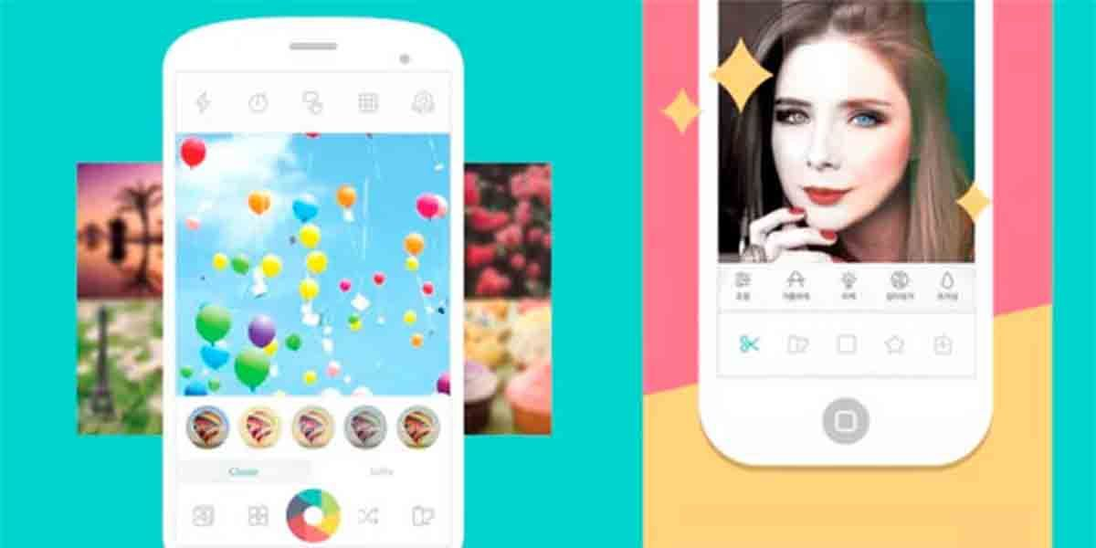 Candy Camera app cámara Xiaomi