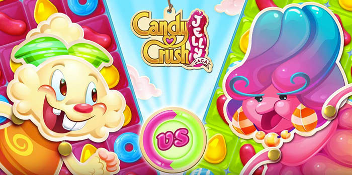 Candy Crush Jelly Saga Logo