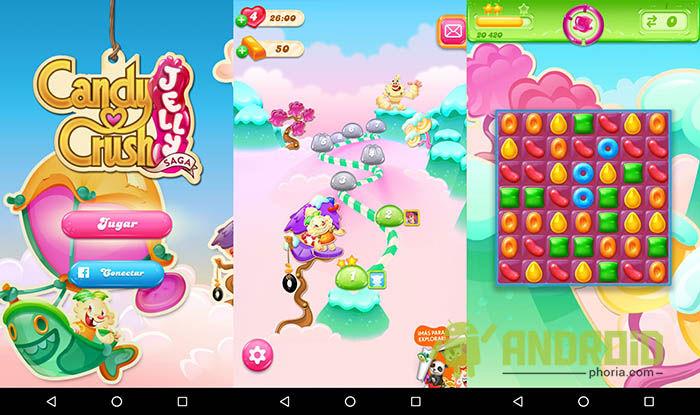 Candy Crush Jelly Saga Primeras impresiones