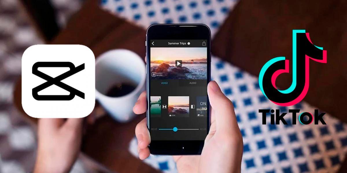 CapCut app que usan para editar videos TikTok
