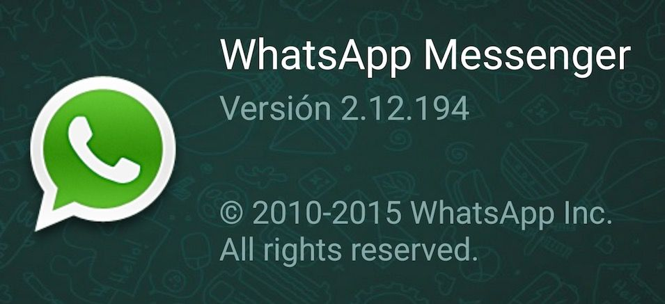 Descargar WhatsApp 2.12.194