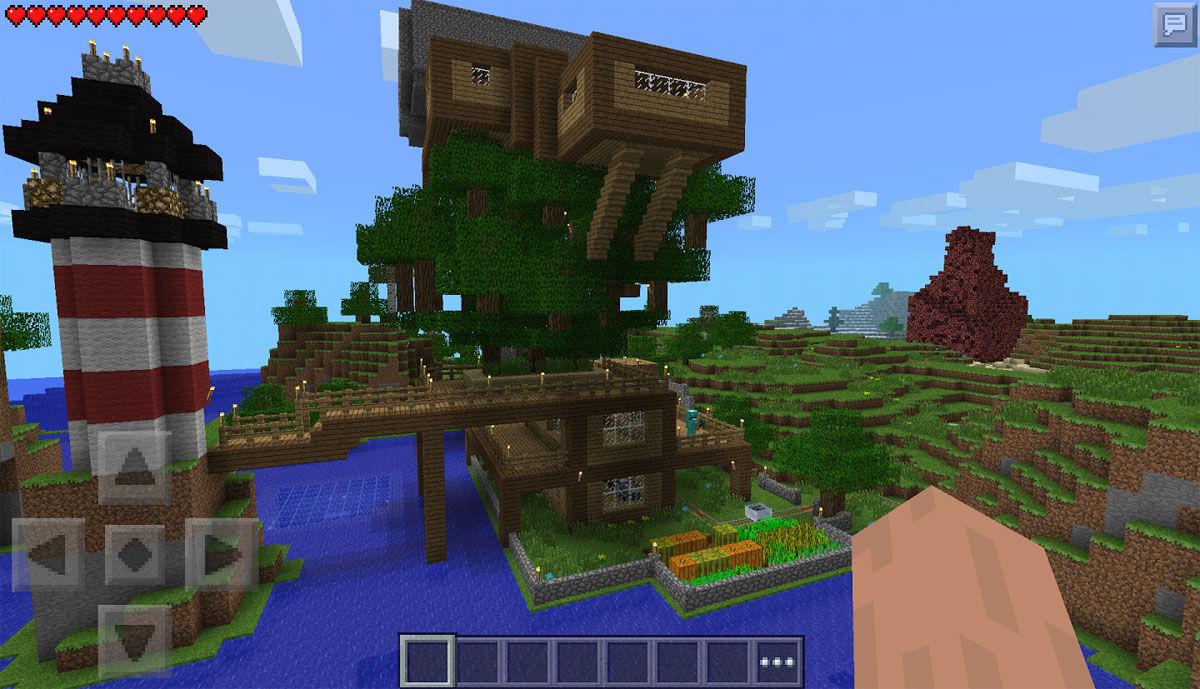Captura de pantalla de Minecraft para móvil totalmente gratuito APK