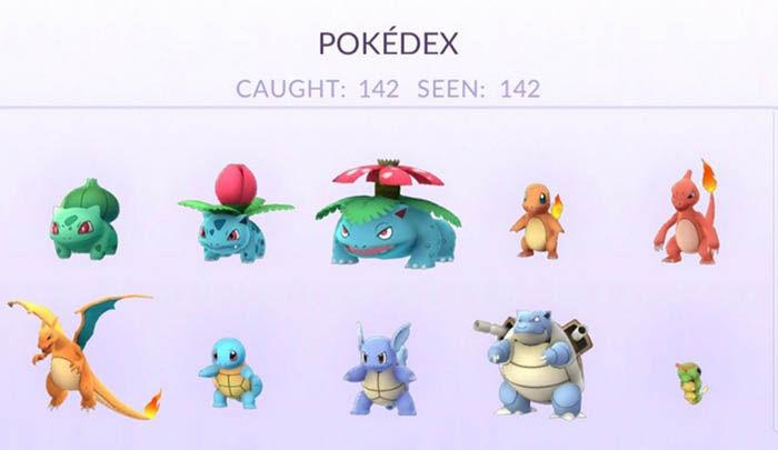 Captura todos los Pokemon