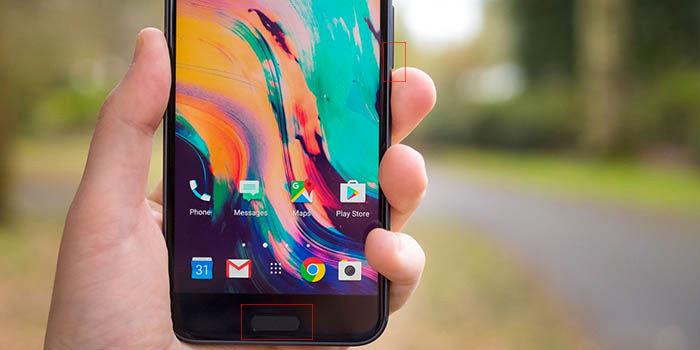 Capturar pantalla HTC 10