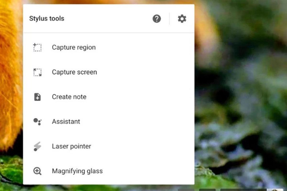 Capturas de pantalla lapiz optico