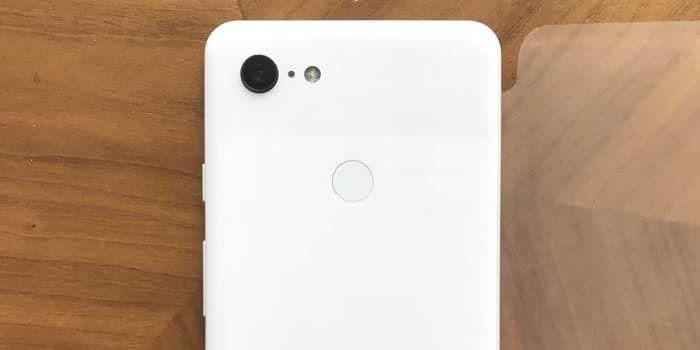 Características cámara Google Pixel 3