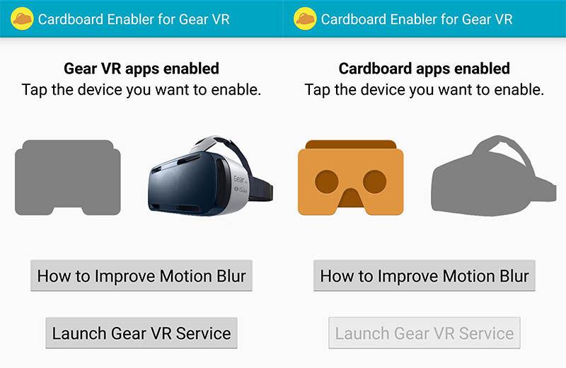 Cardboard Enabler for Gear VR