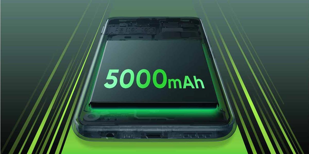 Carga de la batería del Realme C11