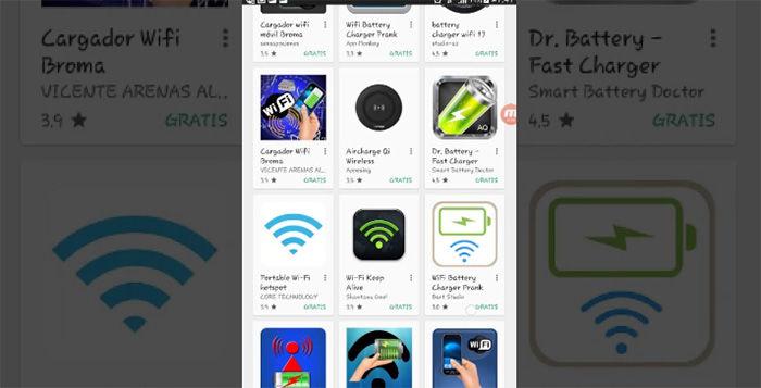 Cargador WiFi para Android