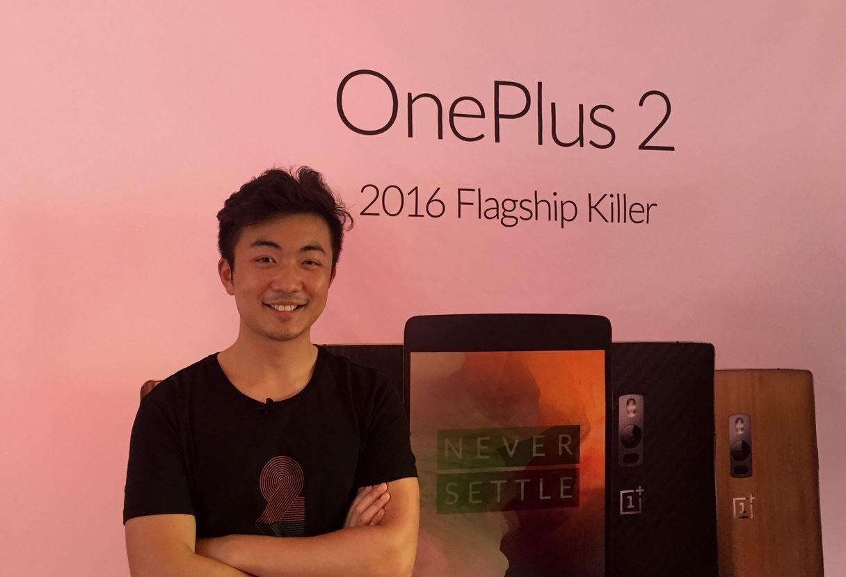 Carl Pei CEO OnePlus