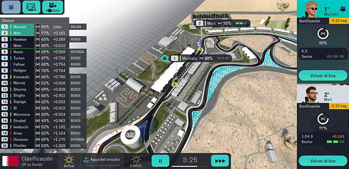 Carrera Motorsport Manager Mobile 3