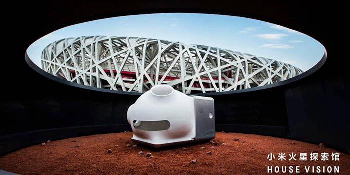 Casa de Xiaomi para vivir en Marte