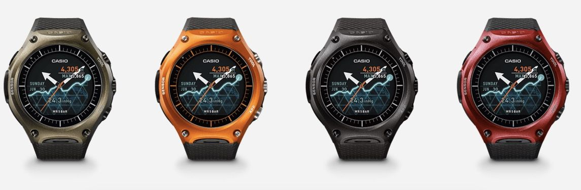 Casio WSD-F10 android wear