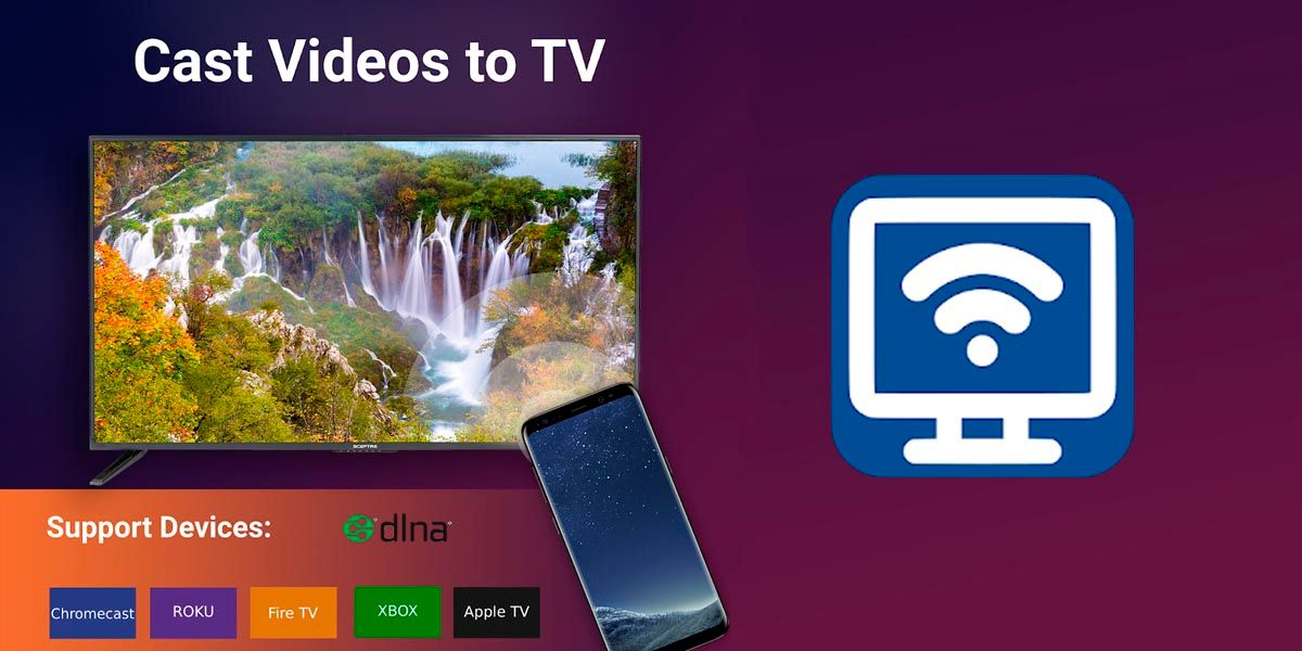 Cast TV reproducir AirPlay Android