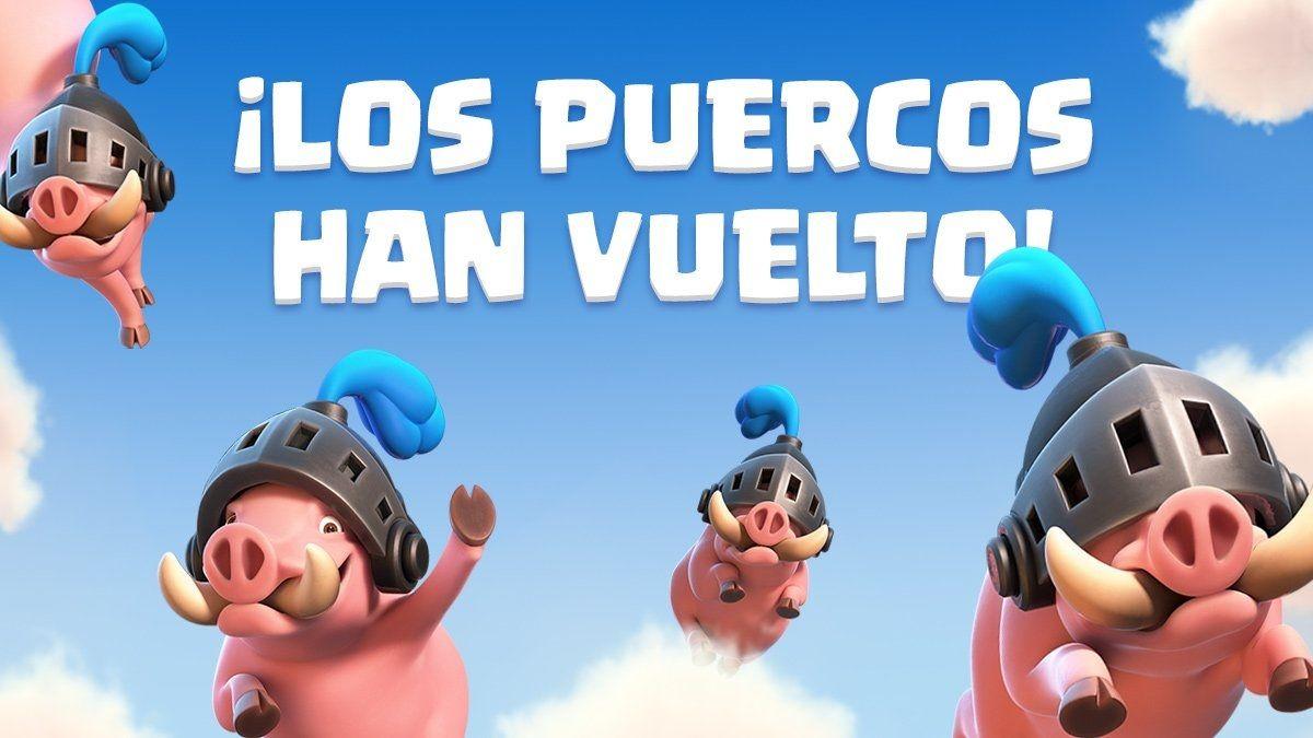 Cerdos reales Clash Royale