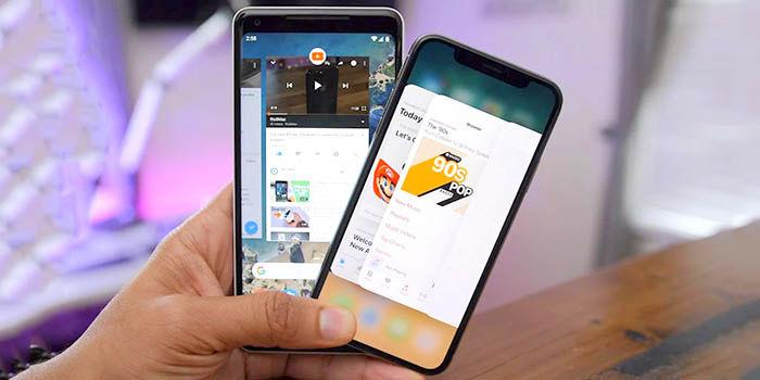 Cerrar apps en smartphones
