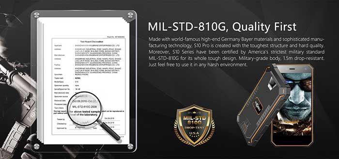 Certificado Nomu S10 Pro