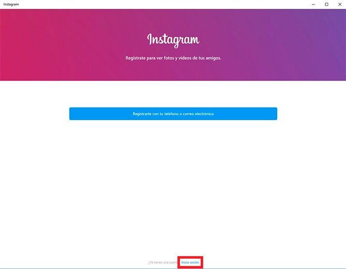 Chatear Instagram desde Windows tutorial 6