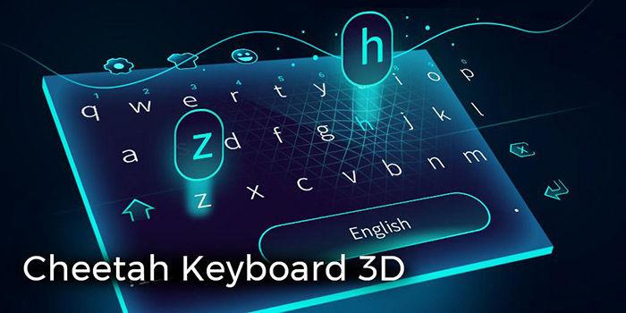 Cheetah, el mejor teclado con temas 3D para Android