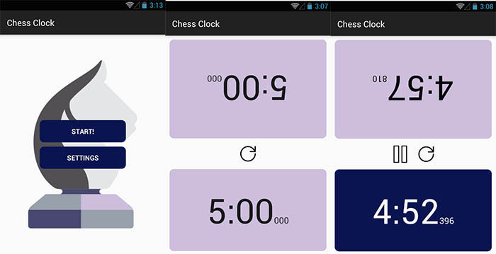 Chess Clock Time Control