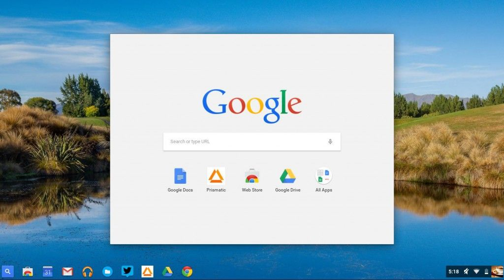 Chrome OS Beta