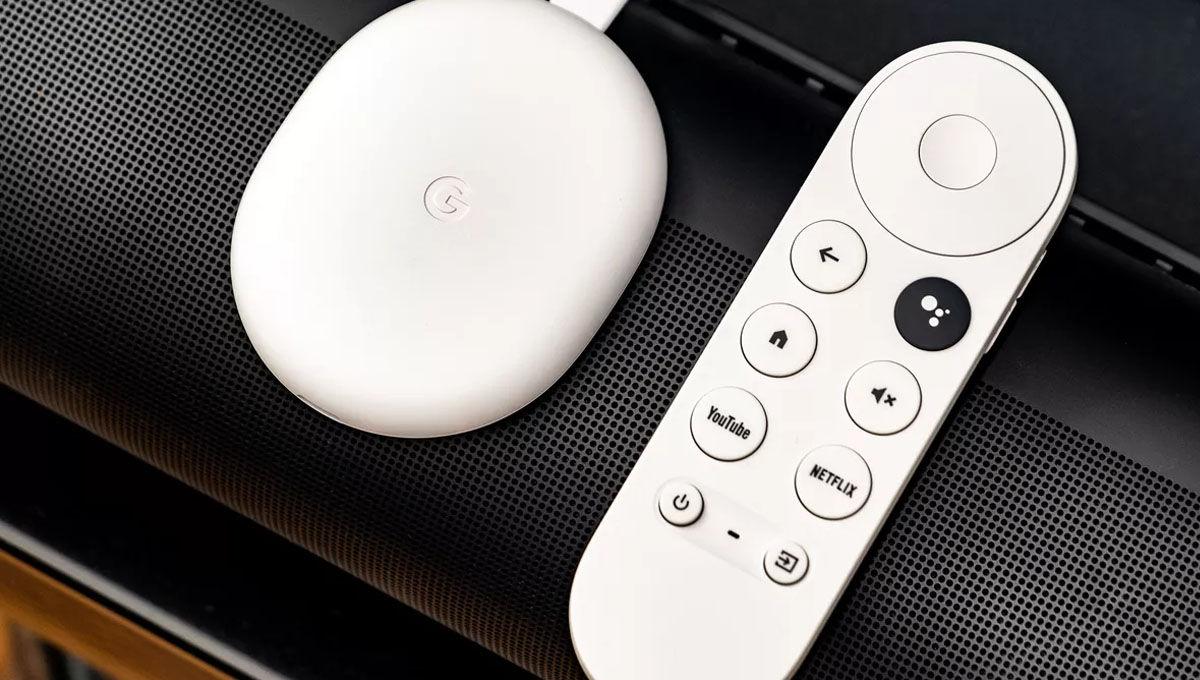 Chromecast con google tv diseno mando