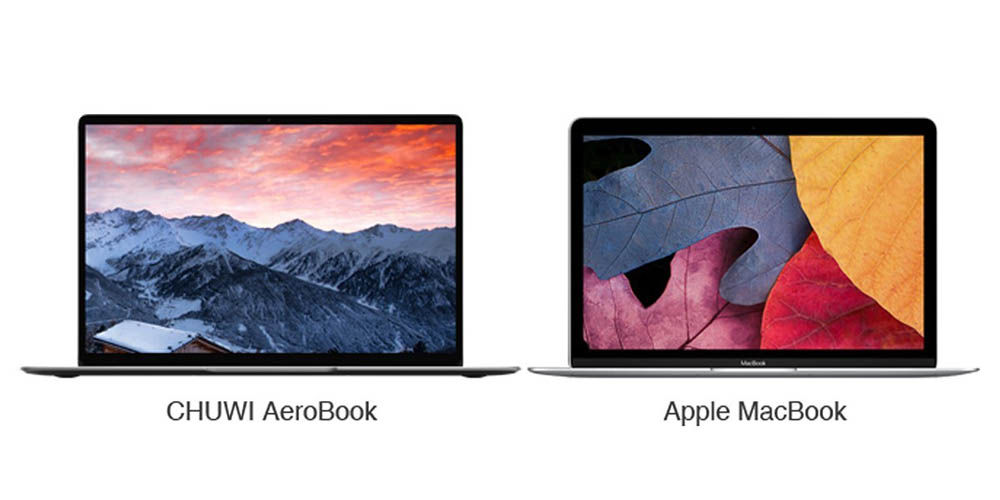 Chuwi Aerobook vs MacBook