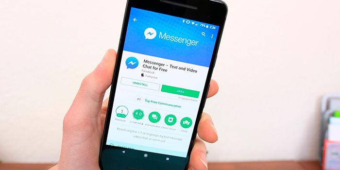 Citar respuestas en Facebook Messenger