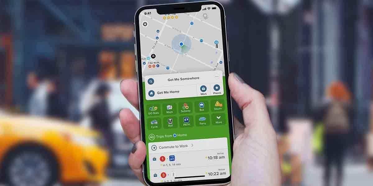 Citymapper app alternativa a Google Maps