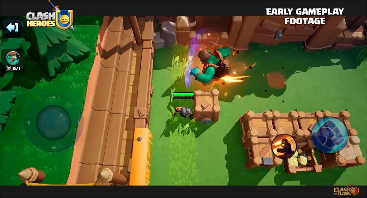 Gameplay di Clash Heroes