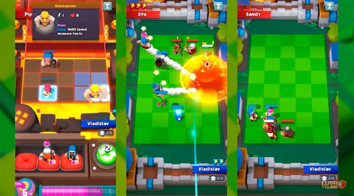 Gameplay di Clash Mini